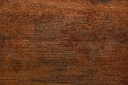 Photo for Brown Wood Texture. Rustic old and used lumber like a chopping board - Royalty Free Image