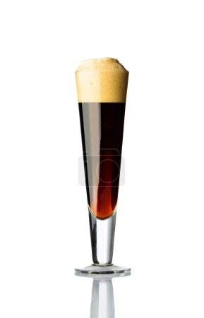 Glass of bitter beer