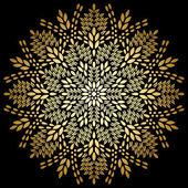 Mandala background vintage