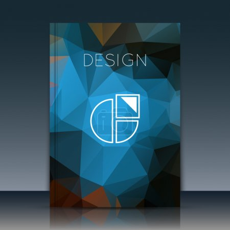 Abstract brochure, Annual report brochure. Brochure vector. Brochure design. Brochure cover. Diary brochure. A4 brochure. Notice book brochure. Journal cover. Notebook. Brochure surface. Planner form