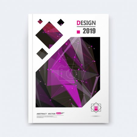 Abstract composition, purple texture, cybernetic dots, a4 brochure title sheet, creative figure, logo banner form, outer space flyer fiber, neon star matrix, starburst elegant surface, EPS 10 backdrop