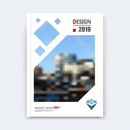 Abstract composition, urban city view, industrial architecture texture, square part construction, a4 brochure title sheet, creative lozenge figure icon, rhombus logo surface, banner form, flyer font