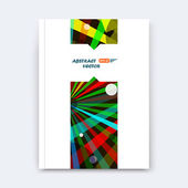 Abstract composition, patch font texture, colored section, blue, green, red lines construction, white a4 brochure title sheet, creative stripe figure icon, commercial offer, banner form, flier fiber