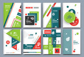 Abstract composition font texture white business card set infograhic element collection a4 brochure title sheet patch part construction creative text frame surface figure logo icon EPS10 image