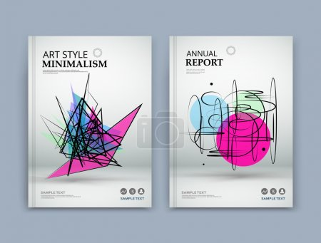 Abstract composition. Pink, blue, green texture. Grunge triangle part construction. white brochure title sheet. Creative figure icon, Circles surface. Round section banner form. Bubbles flyer font.