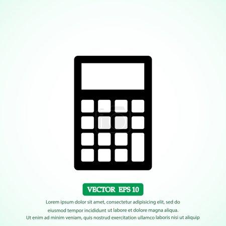 calculator vector icon