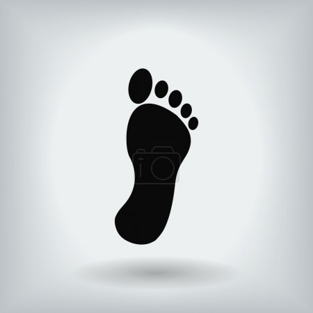 footprint flat icon