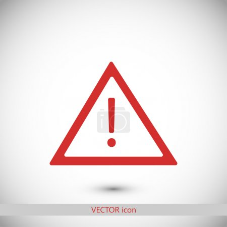 Illustration pour Illustration vectorielle icône panneau de signalisation routière - image libre de droit