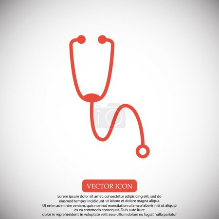 medical stethoscope icon