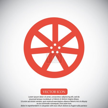 wheel disk icons