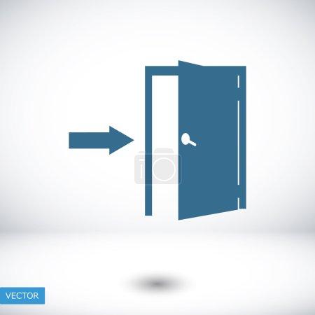entrance door icon