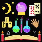 Fortune teller magic vector se
