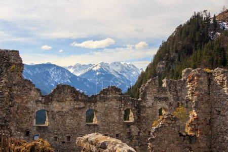 Ehrenberg Castle Ruins In Reutte