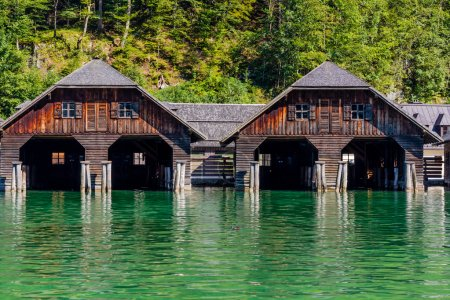 The docks by lake Obersee