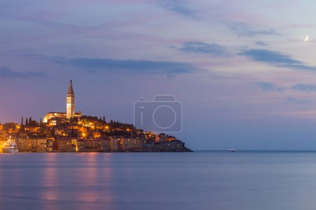 Beautiful romantic old town of Rovinj
