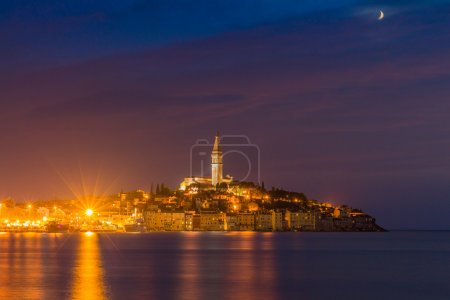 Beautiful romantic old town of Rovinj