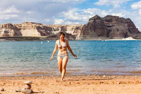 Photo pour Région de Wahweap Marina, Arizona, États-Unis - image libre de droit