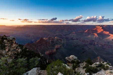 Grand Canyon at sunset views from Yaki Point