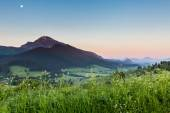 Mountain Choc at sunrise near Dolny Kubin, Slovakia
