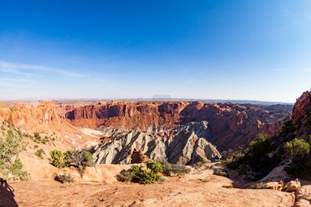 Views of Upheaval Dome in Canyonlands National Par...