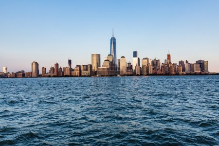 NEW YORK with water