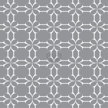 Illustration pour Modèle sans couture. Texture vectorielle abstraite. Modèle géométrique élégant sur un - image libre de droit