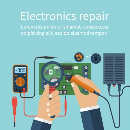 Electronics repair. Tech repairs.