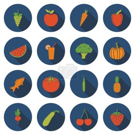 Set healthy food