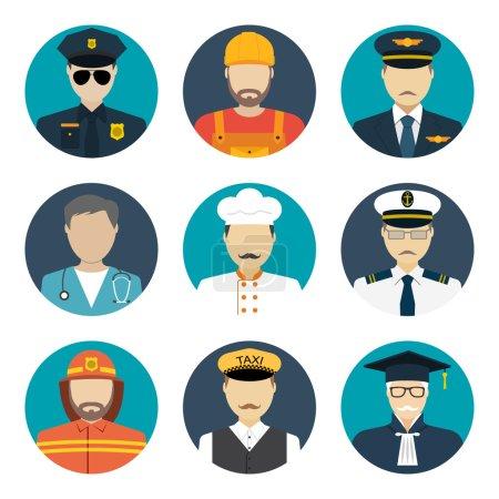 Avatars profession people
