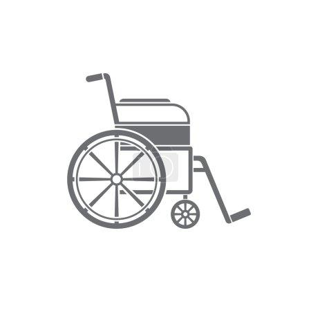 Wheelchair Icon vector