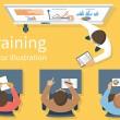 Business training. Training staff. Briefing meetin...