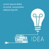 Creative symbol of the idea