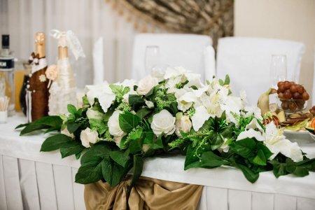 Wedding decor evening