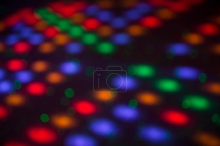 colored spotlights and soundlights