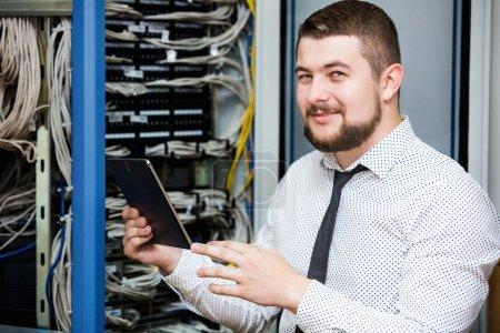 IT administrator. Internet service provider