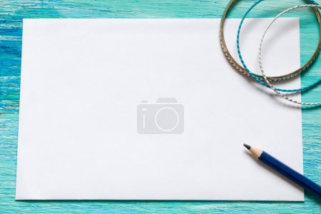 note with notebook Handwritten text Envision Your Goals grunge background space for text  image negotiation text message top view lettering. Postcard, Blank open notebook mock up for adding your text