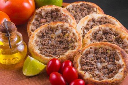 Arabic meat sfiha