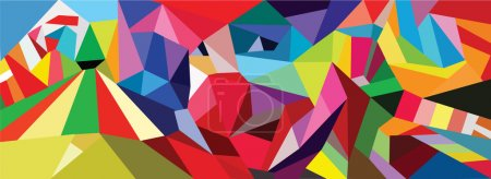 Illustration for Color circus seamless pattern background - Royalty Free Image