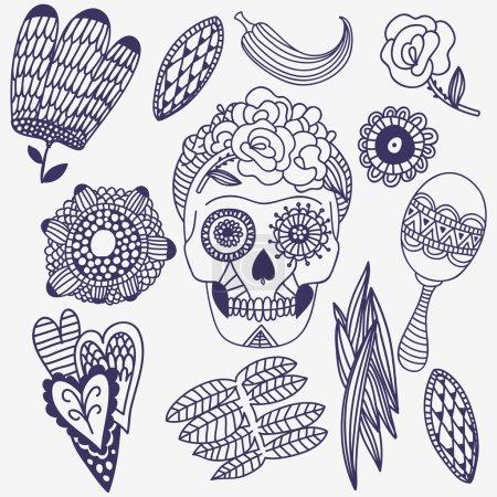 Mexican muertos festival