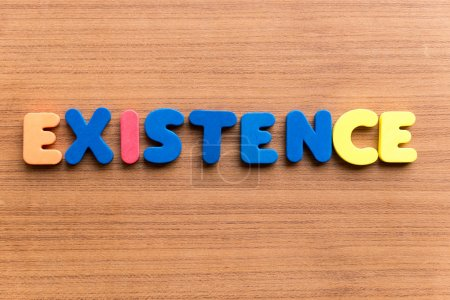 existence colorful word