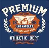 Sport athletic t- shirt graphics
