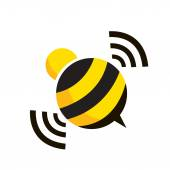 vector bee design