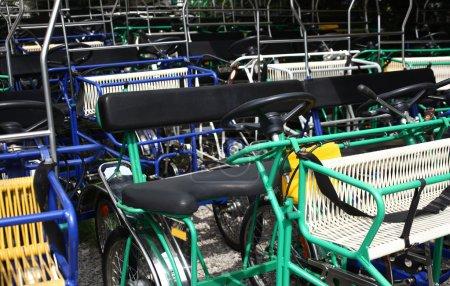 Quadracycles pedal cars