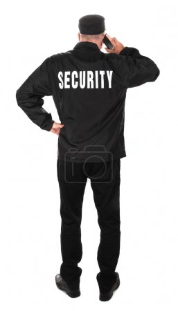Standing Security Guard