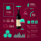 Premium quality thin line color wine infographic on vinous background Modern web graphics linear icons set Simple mono outline symbol collection and best stroke vector logo concept pictogram pack