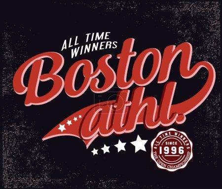 Все время победители Бостон атлетика