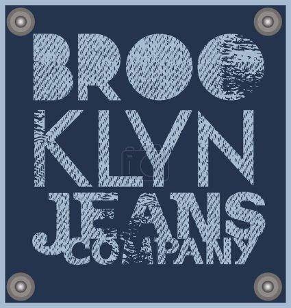 Brooklyn. Jeans company