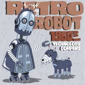 Robot and robotic dog friend