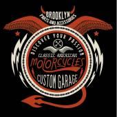 Brooklyn Motorcycles Custom Garage graphic