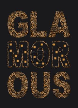 Photo pour Impression de t-shirts, glam - image libre de droit